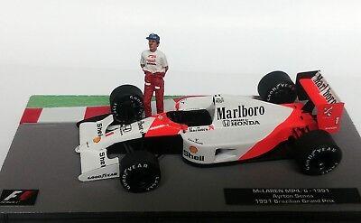 McLAREN HONDA MP4//4 case Altaya MAGKG01 1:43 NEW 1988 Ayrton Senna