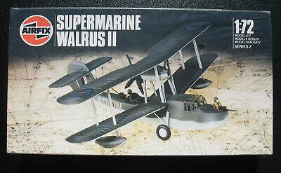 AIRFIX 02002 - SUPERMARINE Walrus II - 1:72 Flugzeug Modellbausatz Model Kit