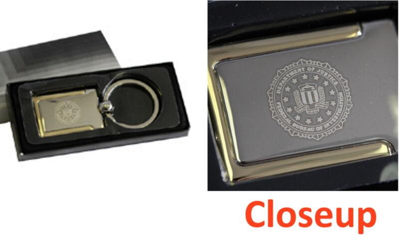 FBI SEAL KEYTAG Key Tag Ring