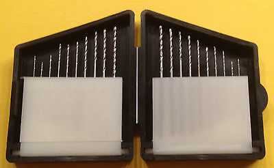 Micro Spiralbohrersatz 0,3mm -1,2mm aus HSS neu und ovp