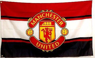 Manchester united flagebay 1 manchester united flag banner 3x5 ft england premier football soccer reds rare voltagebd Image collections