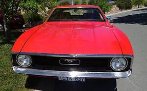 Ford Mustang Coupe 1972 Canberra City North Canberra Preview