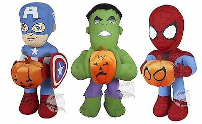 New Disney Halloween Super Hero Decoration Plush Porch Greeters