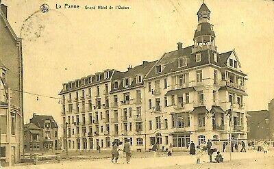 CPA - Belgique -  De Panne - La Panne - Grand Hôtel de l'Océan