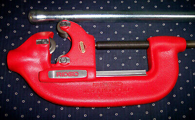 New Ridgid Tools Model 4-s Hd 2-4 Capacity Pipe Steel Cutter 32840