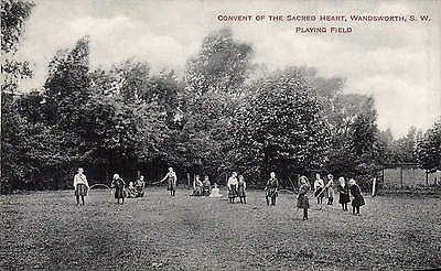 Wandsworth. Convent of the Sacred Heart. Playing Field by W. Stackmann & Co.