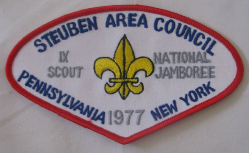 Steuben Area Council (NY) 1977 National Jamboree JSP  BSA