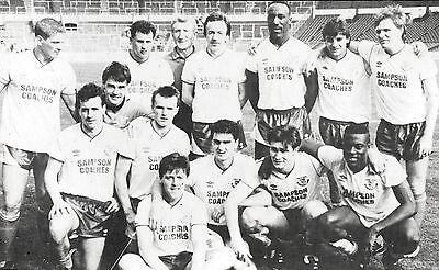 ENFIELD FOOTBALL TEAM PHOTO 1987-88 SEASON