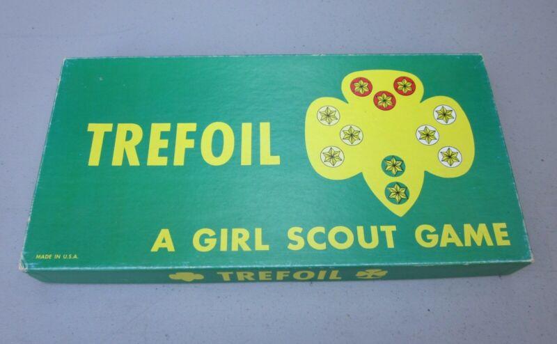 Vintage TREFOIL Girl Scout Boardgame 1960
