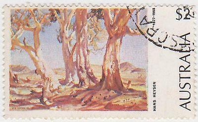 Купить (DA1321) 1974 AU $2 red gums (C)