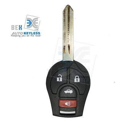 Replacement 4 BOTTON Remote Key Fob Keyless Entry For Nissan 2005-2006 Altima