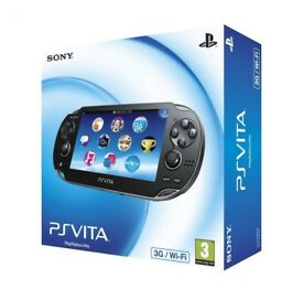 Playstation Vita 3G/Wifi Boxed 16GB