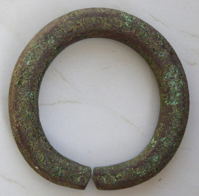 Antique Nigerian African Copper CURRENCY Heavy money trade metal