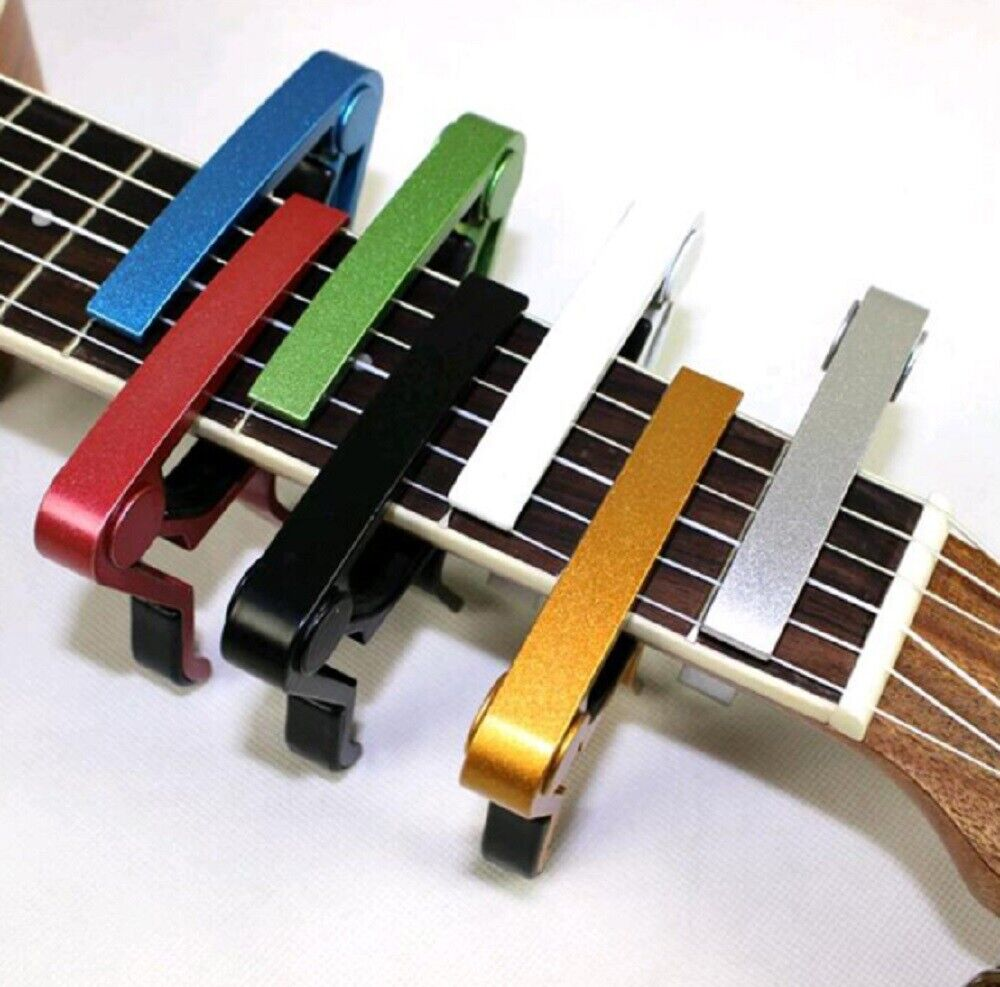Guitar Capo Acoustic Clip Guitar String Instrument Clamp Fret Electric US Capos