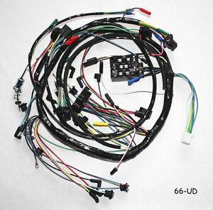 1966 mustang wiring harness ebay. Black Bedroom Furniture Sets. Home Design Ideas