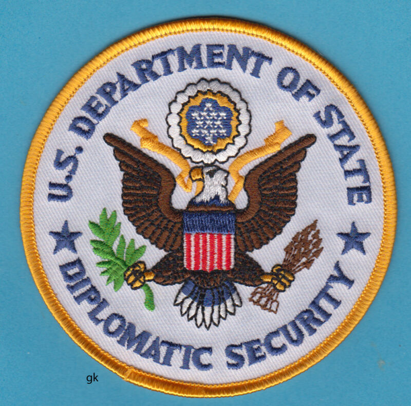 US DEPT. OF STATE DIPLOMATIC SECURITY SHOULDER PATCH
