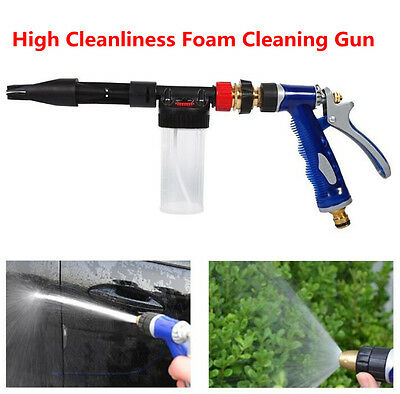 1pcs 2 in 1 Detachable Car Clean Pressure Wash Water Gun Soap Snow Foam Sprayer