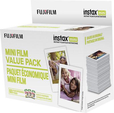 Fujifilm - Instax Mini Film Value Pack  - White