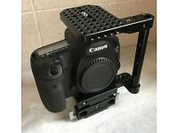 Wooden Camera Cage for Canon 5DmkIV/5DmkIII