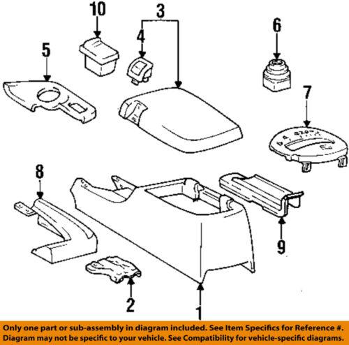 Toyota Supra 1993-1998 Center Console Armresat Box Genuine 58901-14H00-C0