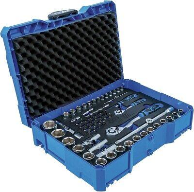 BGS 3354 Systainer - Steckschlüsselsatz 65-tlg. Einlage  BOXSYS1  Ratsche Nüsse