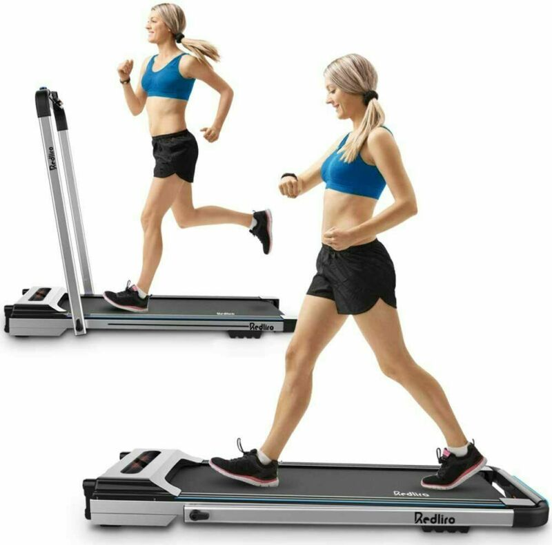 Treadmill Electric Motorized Folding 2.25 HP 2 in 1 Running Machine Home Office