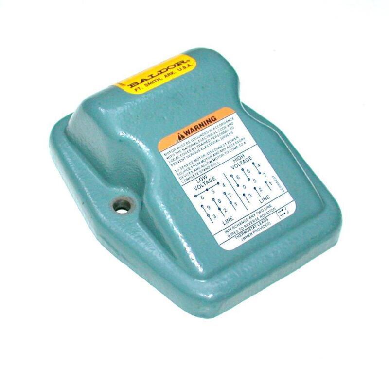 ABB Baldor  06CB1502  Electrical Box Lipped Lid Cast Motor Cover