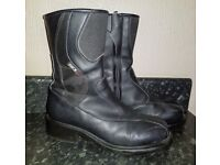 Sidi Lei Ladies/Womens Motorbike Boots - Size 6UK (EU40)