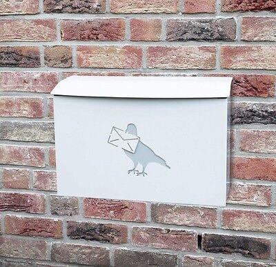 Esschert Briefkasten Postkasten Gusseisen Landhaus Wandbriefkasten NEU PTT04