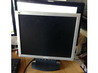 ViewSonic VA702 17 LCD Monitor flat screen