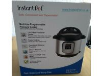 Instant Pot Duo60 6L electric pressure cooker- boxed, never used, still wrapped