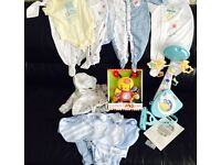 Baby bundle - cot mobile and clothes