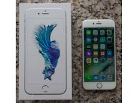 iPhone 6S 64GB Silver - Unlocked, Immaculate Condition.