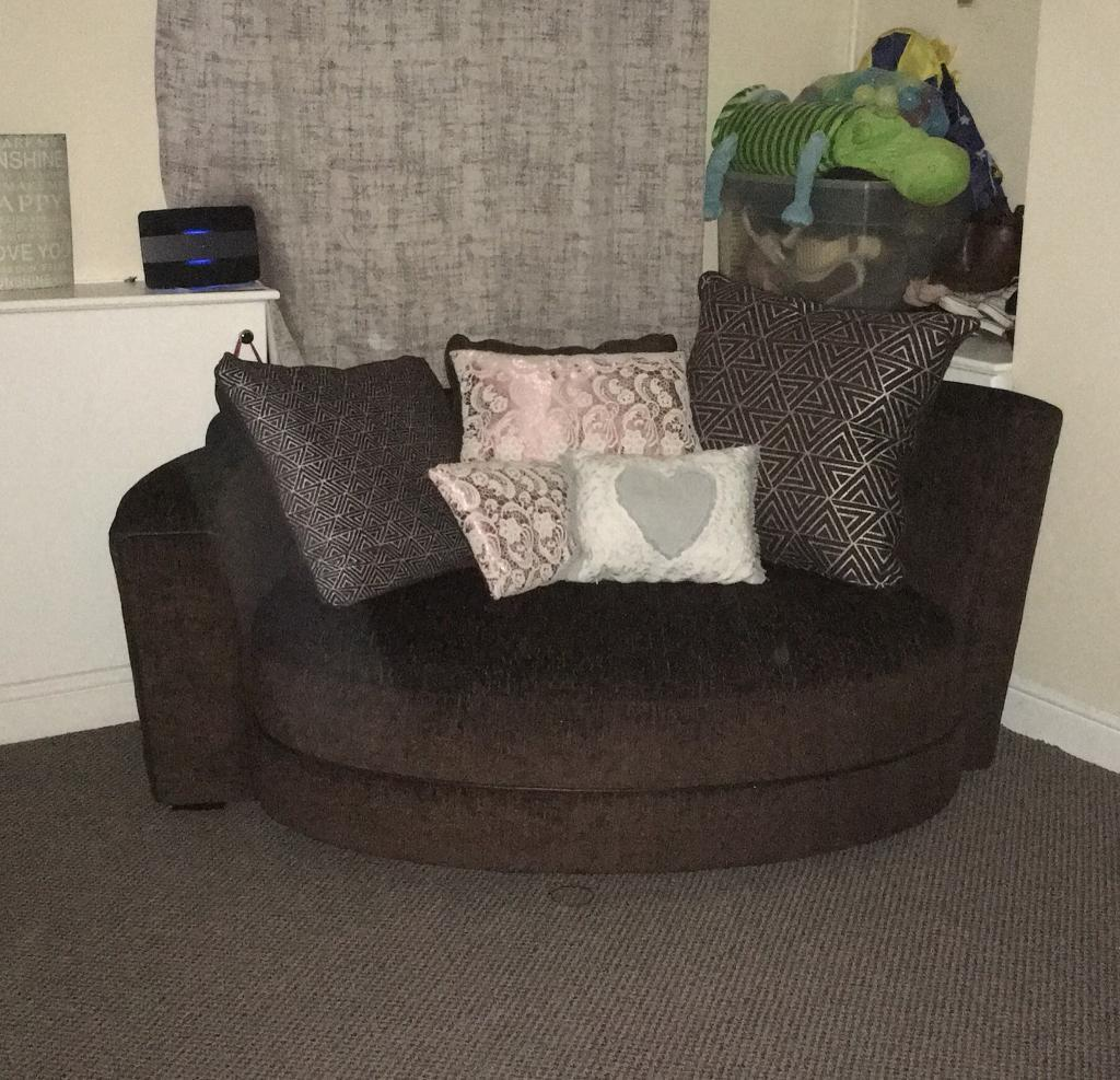 **SENSIBLE OFFERS CONSIDERED** DFS avici cuddler sofa