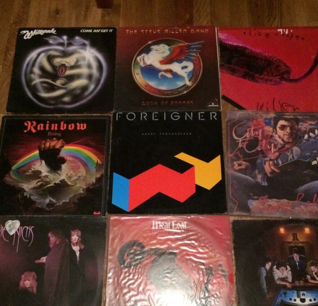 "12"" vinyl album lp job lot collection record"