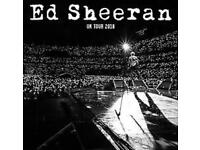 1 x Ed Sheeran 2018 Ticket