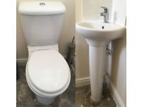Ideal Standard White Cloakroom suite