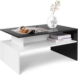Coffee Table for Living Room Modern Side End Table