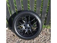 """18"""" - 225x40x18 Alloys with winter tyres"""