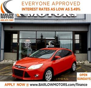 2012 Ford Focus SE**AMVIC INSPECTION & CARPROOF PROVIDED!