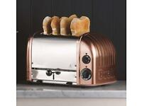 Dualit Copper 4 slice toaster