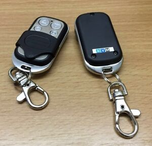 2 Genuine Roller Shutter Remote Control  Fob for NVM/ELLARD  Recorded Delivery