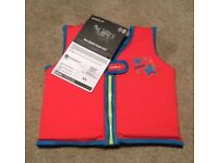 Children's swim vests. Fit 2-3/3-4 years.