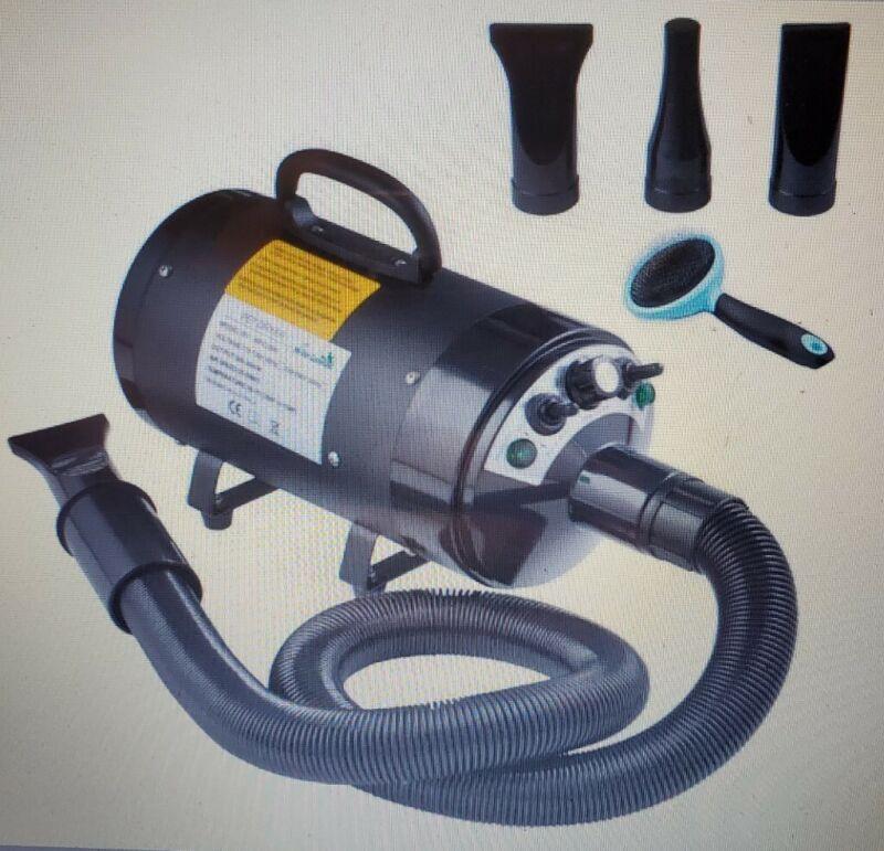 My Pet Command 110V Dog Hair Dryer Professional High Velocity Blower 500W-2800W