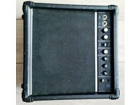 GA20 guitar practice amplifier with overdrive channel