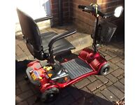 Mobility Scooter (Ultralite 480) in immaculate condition - reduced to £299 for quick sale (RRP £699)