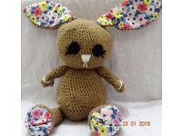 Crochet funny bunny