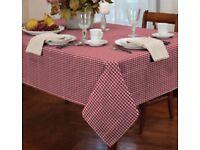large rectangular cotton table cloth on sale