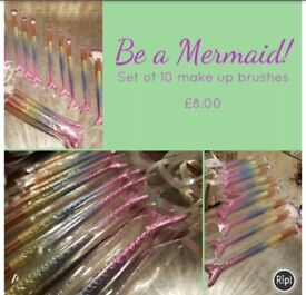 Mermaid make up brushes xmas