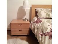 SKOVBY WHITE OAK BEDROOM SET